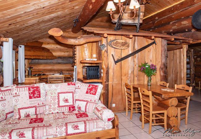 Chalet à La Bresse - 3. Magnifique chalet rondins 4/6 p, 52 m², 2 ch S