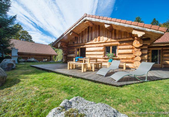 Chalet à La Bresse - 5. Superbe chalet rondins 4/6 p, 2 ch, 65m², calm