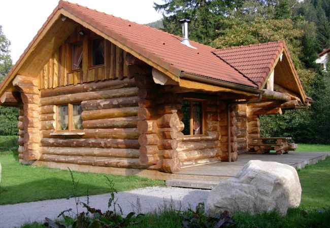 Chalet à La Bresse - 6. Beau chalet rondins 6/8 p, 3 ch, 85 m² F